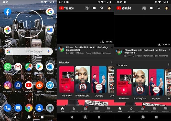 Como realizar captura de pantalla Moto G7 Power