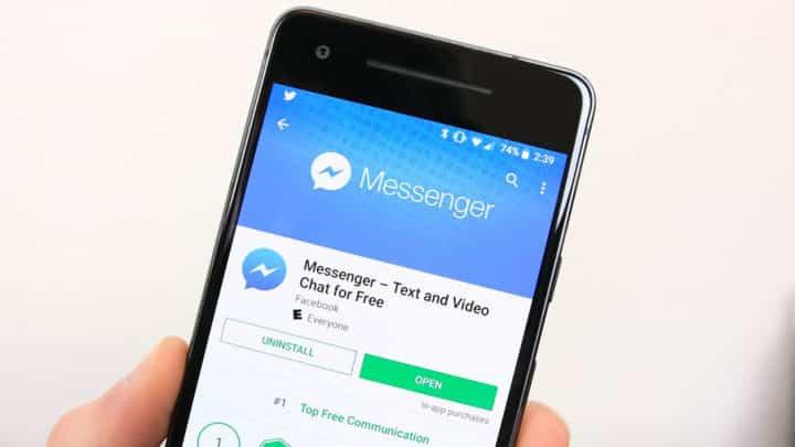 Iniciar sesión en Messenger con Facebook es muy fácil