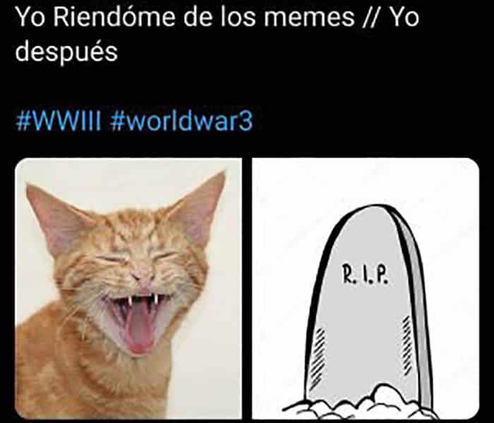 Mejores memes Tercera Guerra Mundial 10