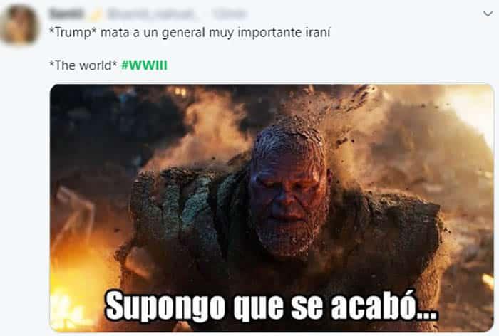 Mejores memes Tercera Guerra Mundial