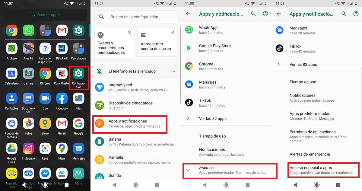 Cómo instalar aplicaciones APK Android