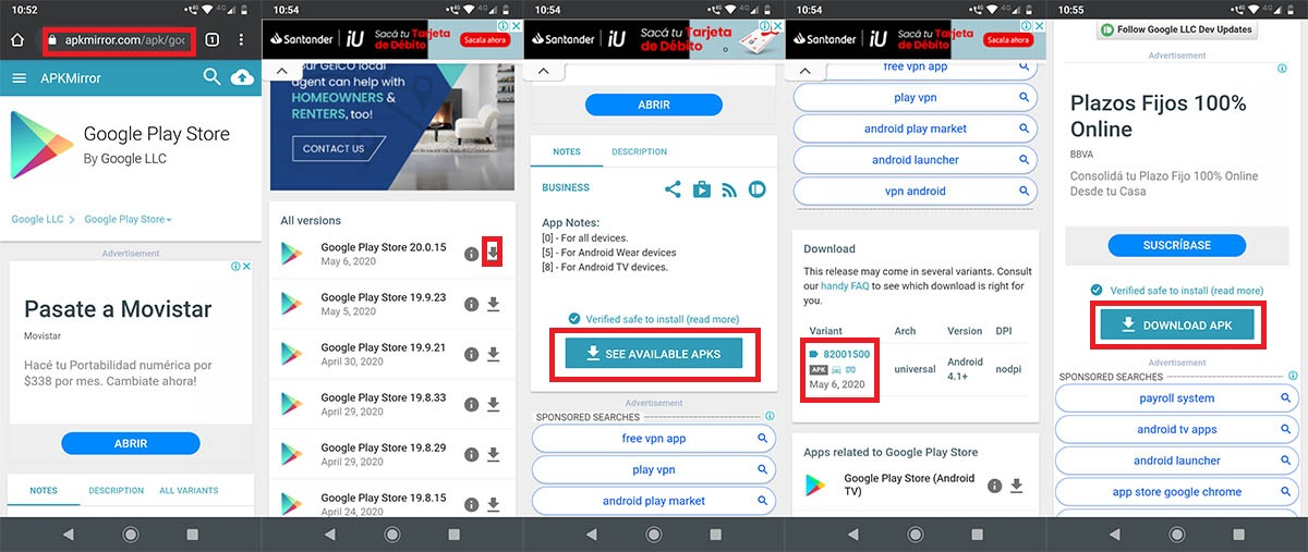 Descargar Play Store Motorola