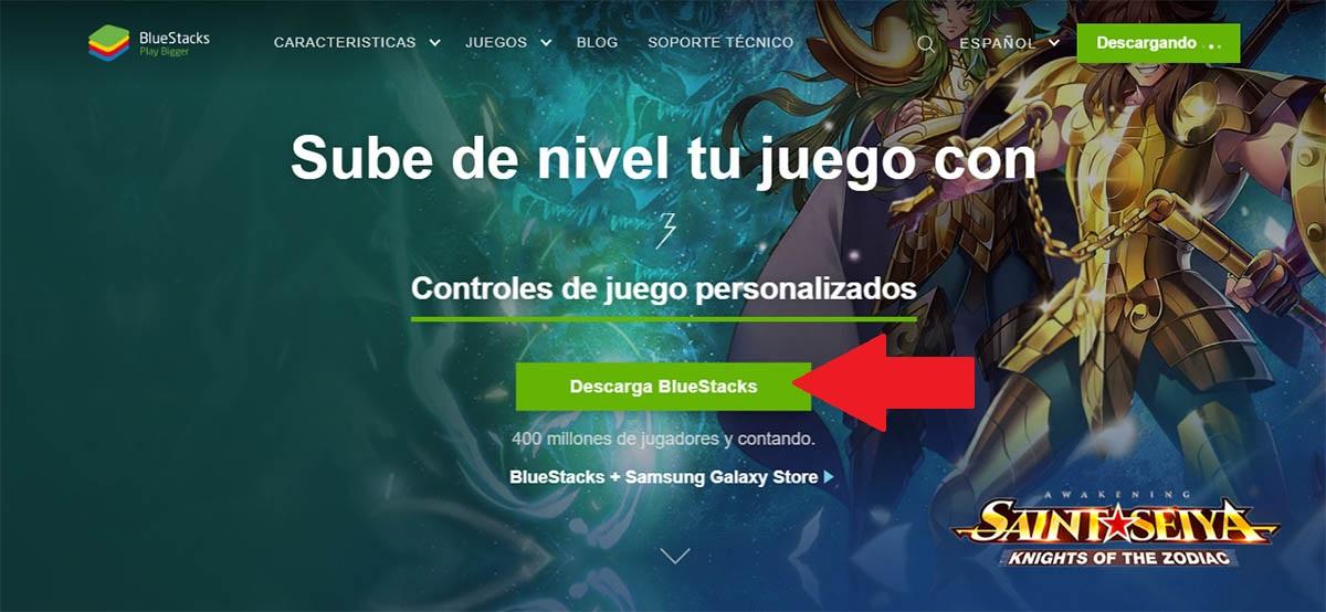 Descargar BlueStacks para PC