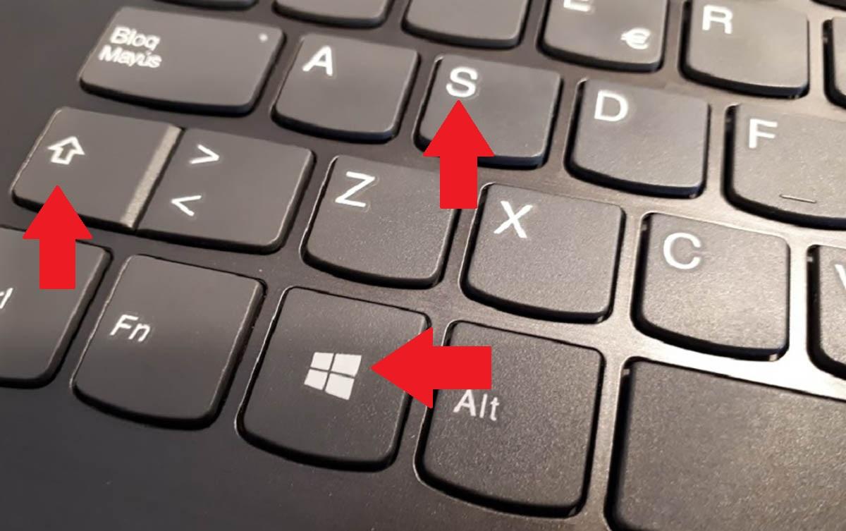 Hacer una captura de pantalla Windows 10