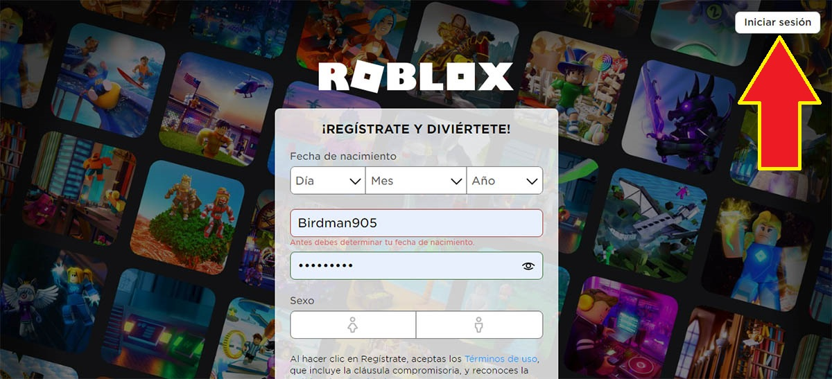Abrir Roblox en PC