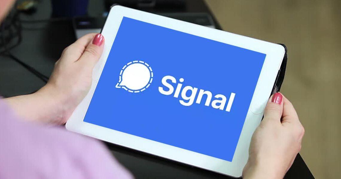 Así puedes descargar Signal para tu tablet Android