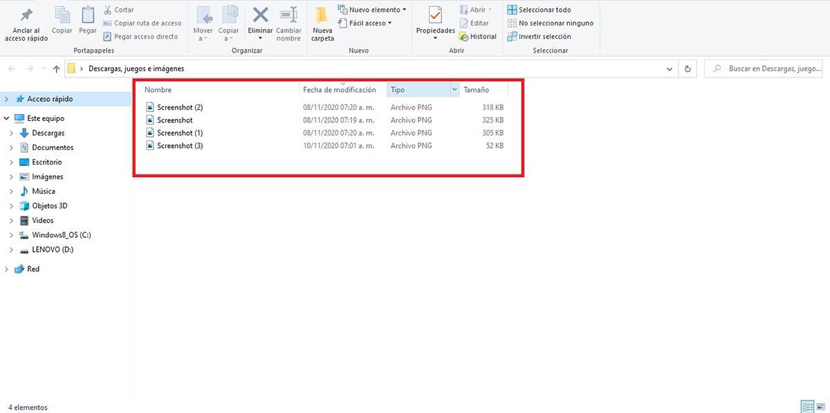 Seleccionar archivos a comprimir