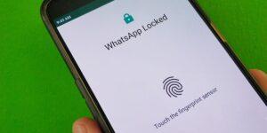 Cómo bloquear WhatsApp con la huella dactilar