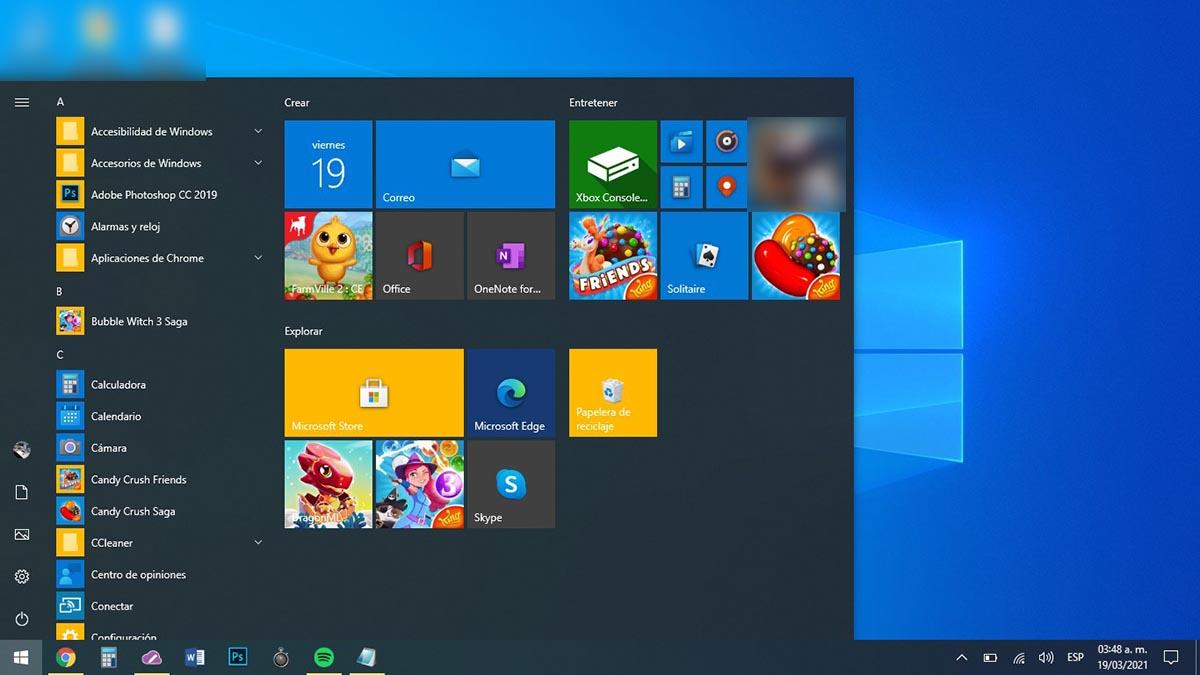 Escribir comando Windows 10