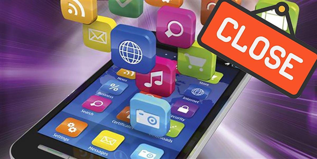 La aplicación se cierra sola en Android