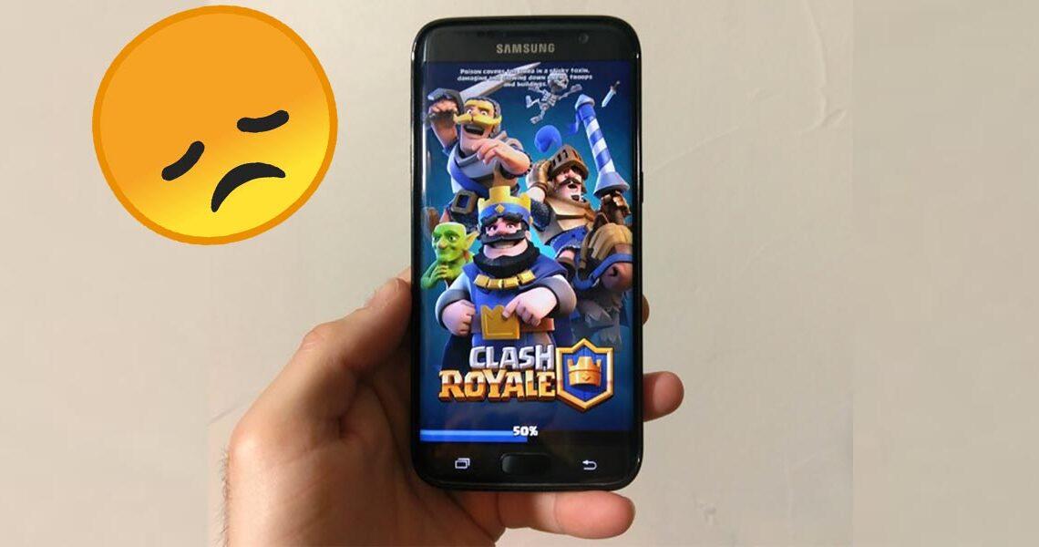 Clash Royale no pasa del 50 %, ¿cómo solucionarlo?