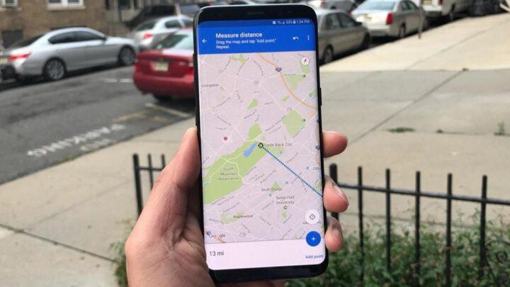 Así puedes medir la distancia en Google Maps