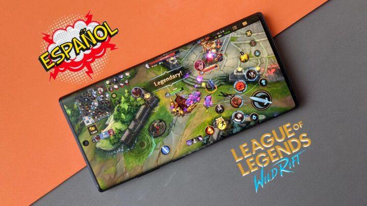 Cómo cambiar el idioma de League of Legends: Wild Rift al español