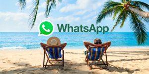 Cómo activar modo vacaciones WhatsApp