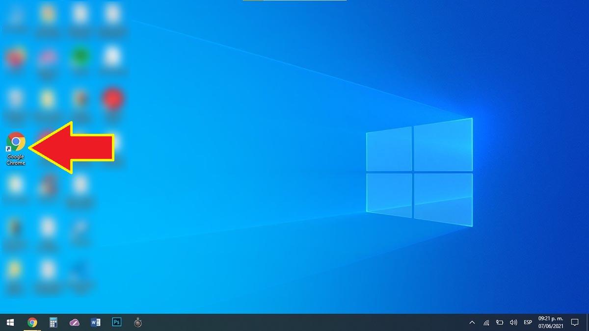 Abrir Google Chrome PC