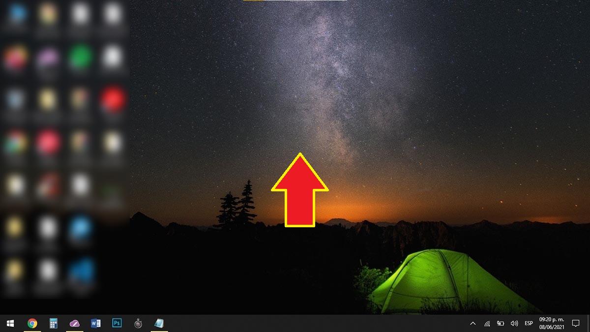 Opciones de pantalla Windows 10