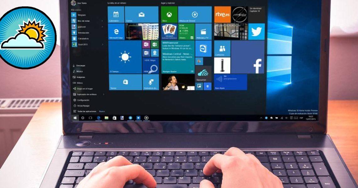 Quitar el clima de la barra de tareas en Windows 10 es así de fácil