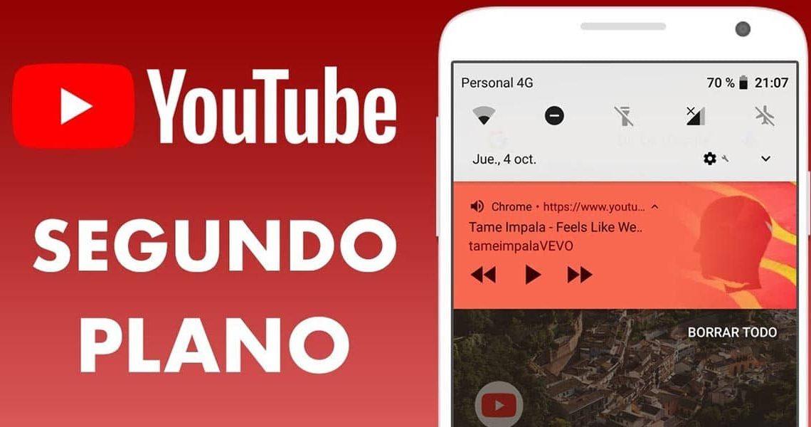 Desactivar la reproducción en segundo plano en YouTube Premium es así de fácil