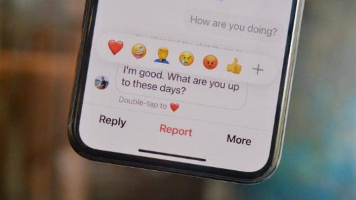 ¿Cómo reacionar a los mensajes de Instagram con emojis?