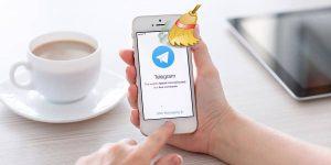 Borrar caché de Telegram en Android